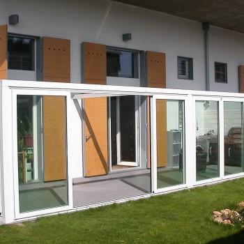Veranda in alluminio a Milano