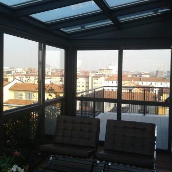 Veranda Milano DM Serramenti